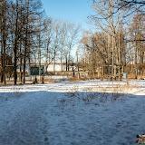 Ясногорск. Городской парк возле ДК. Вдалеке видна летняя танцевальная площадка.