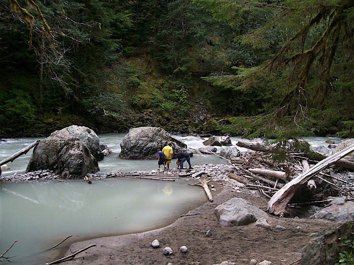 boys at the nooksack river