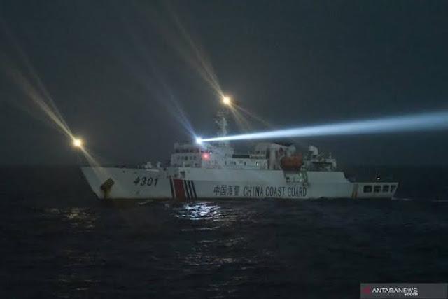 Lagi, Puluhan Kapal China Ramai-ramai Rampok Ikan di Natuna, PKS: Usir