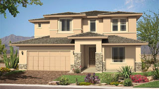 Ridgeview floor plan The Estates at Morrison Ranch by Pulte Homes
