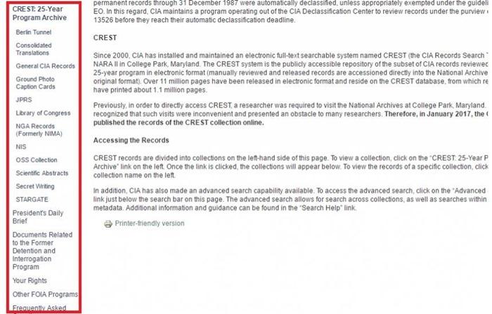 Como acessar os arquivos secretos da CIA sobre OVNIs e guerras 03