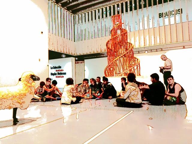 Visita al Centro Pompidou