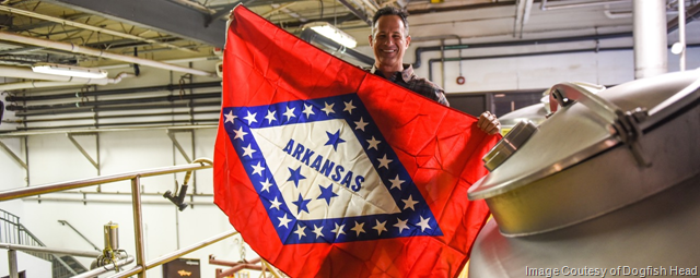 Dogfish Head Launching Arkansas Distribution In March
