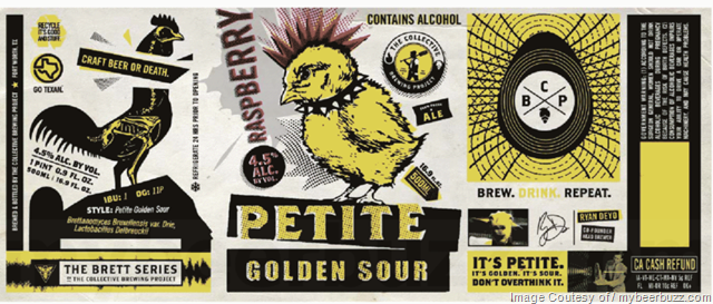 The Collective Brewing Project - Raspberry Petite Golden Sour