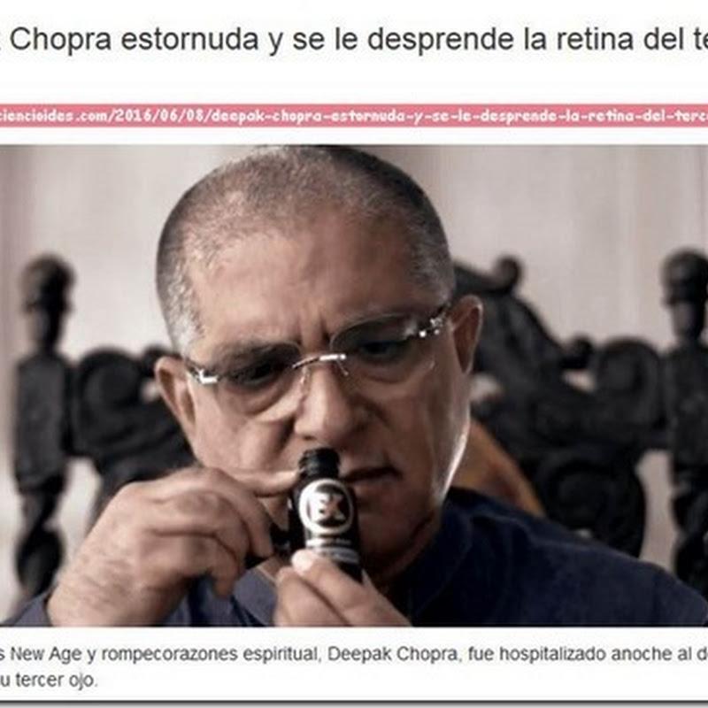 Chopra con desprendimiento de retina del tercer ojo