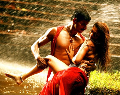 Nayantara hot Sexy Song Images in sathyam Movie