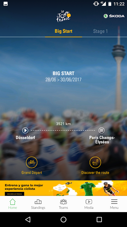 TOUR DE FRANCE 2017 by ŠKODA- screenshot