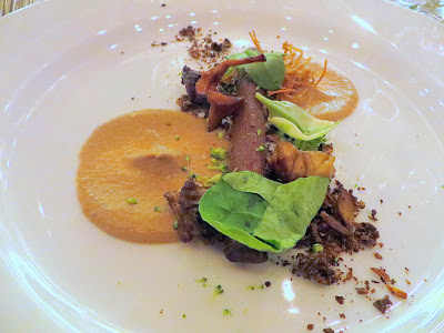 Feast 2014 Dinner, State of the Art with Adelsheim Vineyards and Willamette Valley Vineyards, Fallen Log by Homaro Cantu