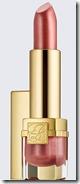 Estee Lauder shimmer lipstick in Beige