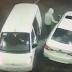 VÍDEO: HOMEM JOGA GASOLINA EM ASSALTANTES EM POSTO DE COMBUSTÍVEL