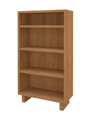 Aurora Standard Bookshelf in Calhoun Maple