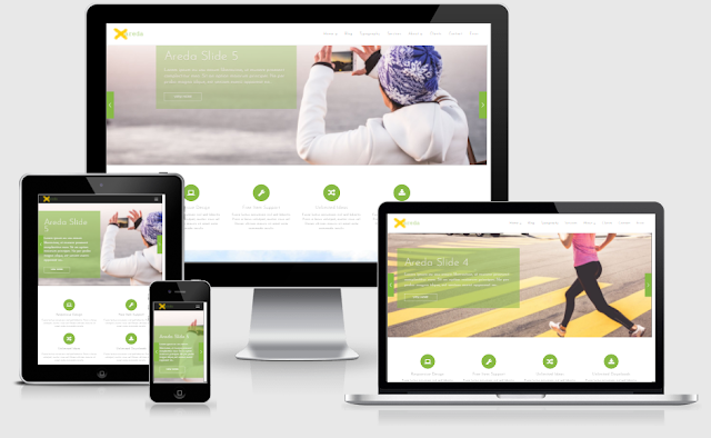Areda Home 2 - Blogger Template free download