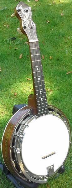 Ludwig Wendell Hall Banjolele Banjo Ukulele