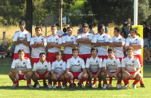 Seleccionado juvenil de la Unión Jujeña de Rugby
