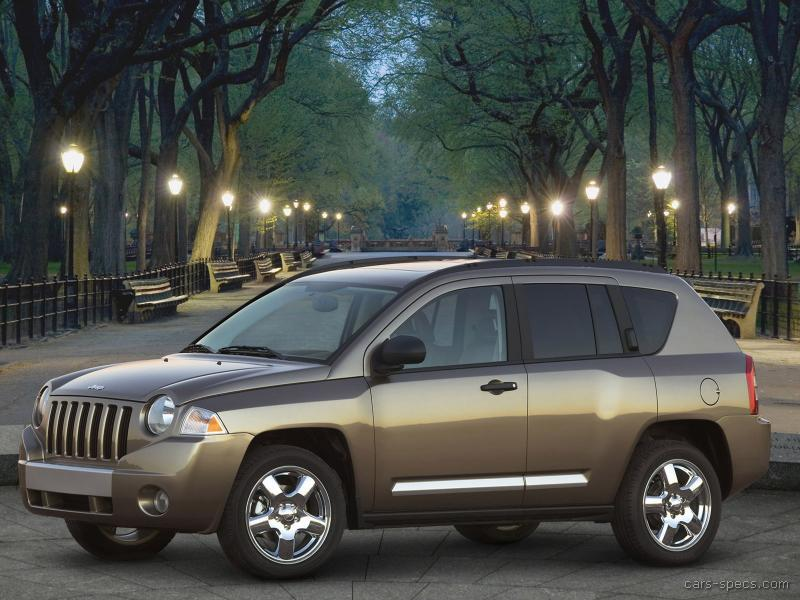 specs 2007 jeep compass manual 2 wheel drive base model
