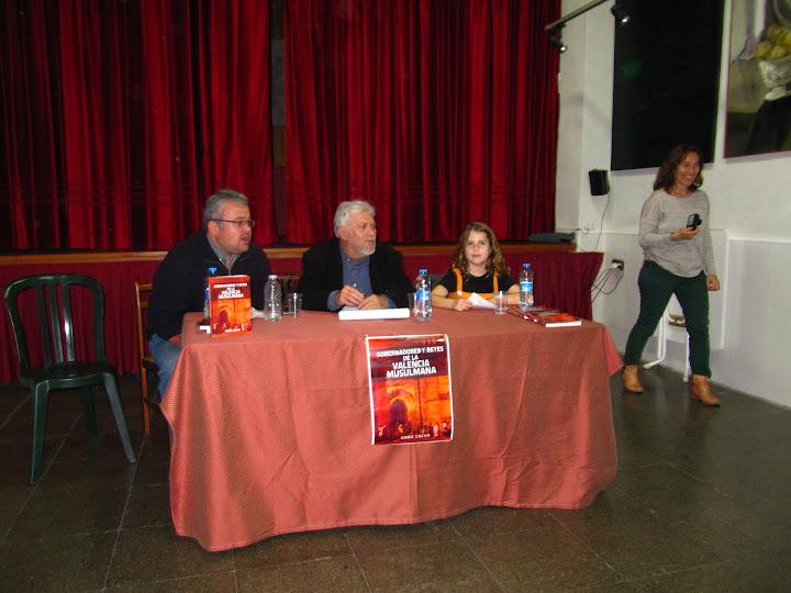 Presentacio del llibre Gobernadores y Reyes de la Valencia Musulmana