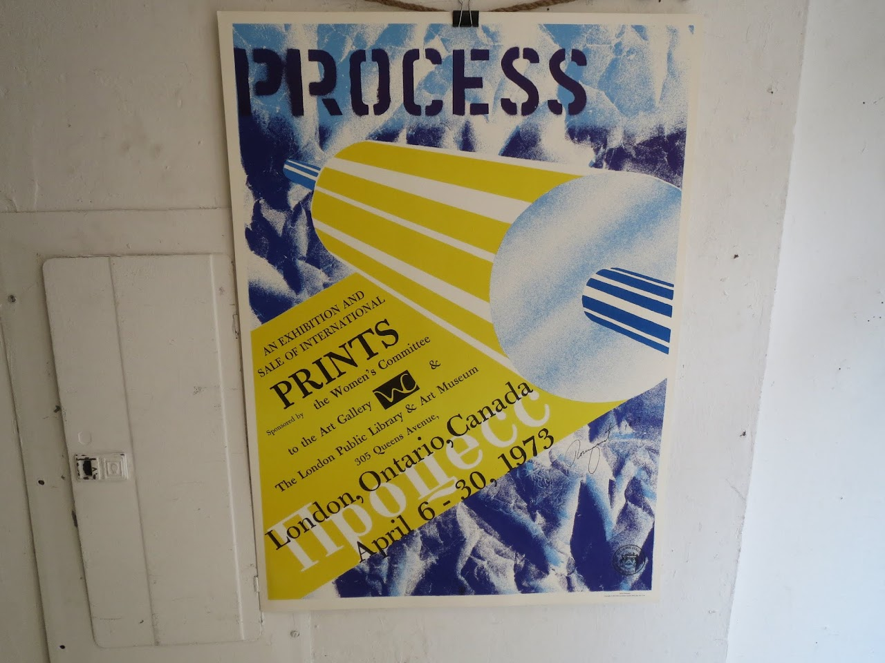 James Rosenquist Signed Exhibition Poster 3