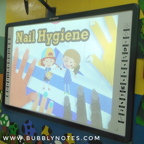 Preschool Moments My 1st Student Parents Activities Nail Hygiene (5)