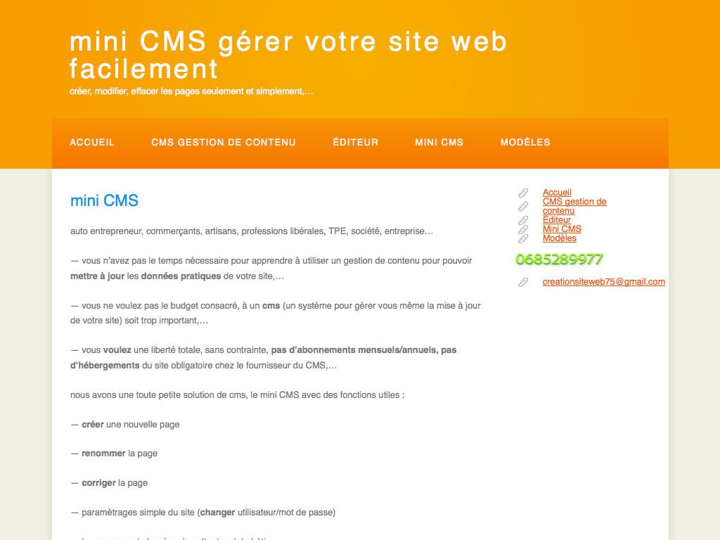 Mini CMS 1.4 - 01b 1024x768