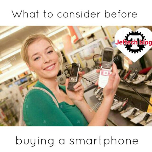 Top 5 Things To Consider Before Buying A Smartphone.