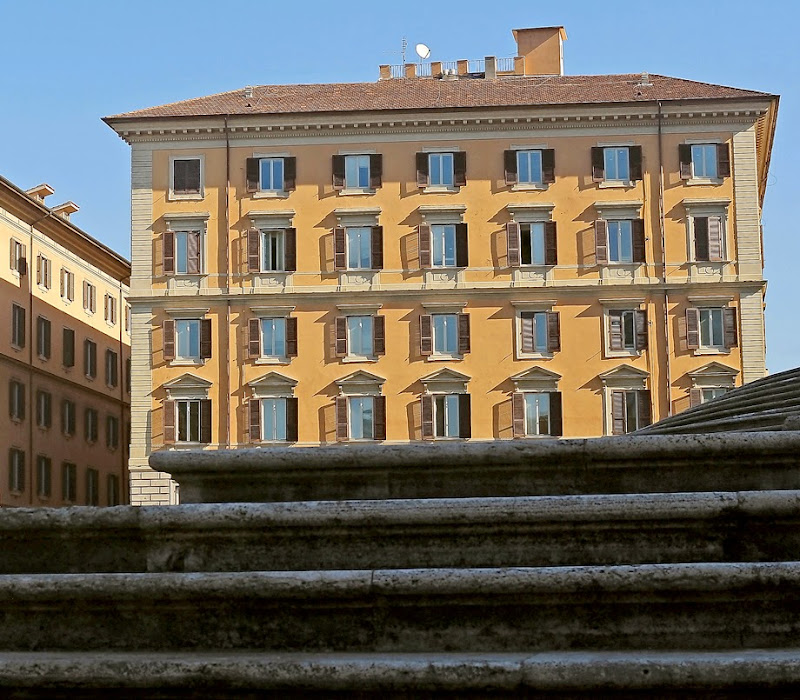 16. Steps of Basilica di Santa Maria Maggiore. Rome. 2006