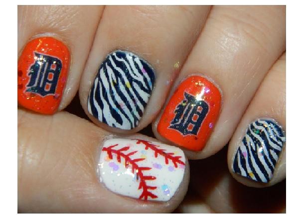Top 10 Amazing Sporty Baseball Nail Art Designs For 2018 Fashonails