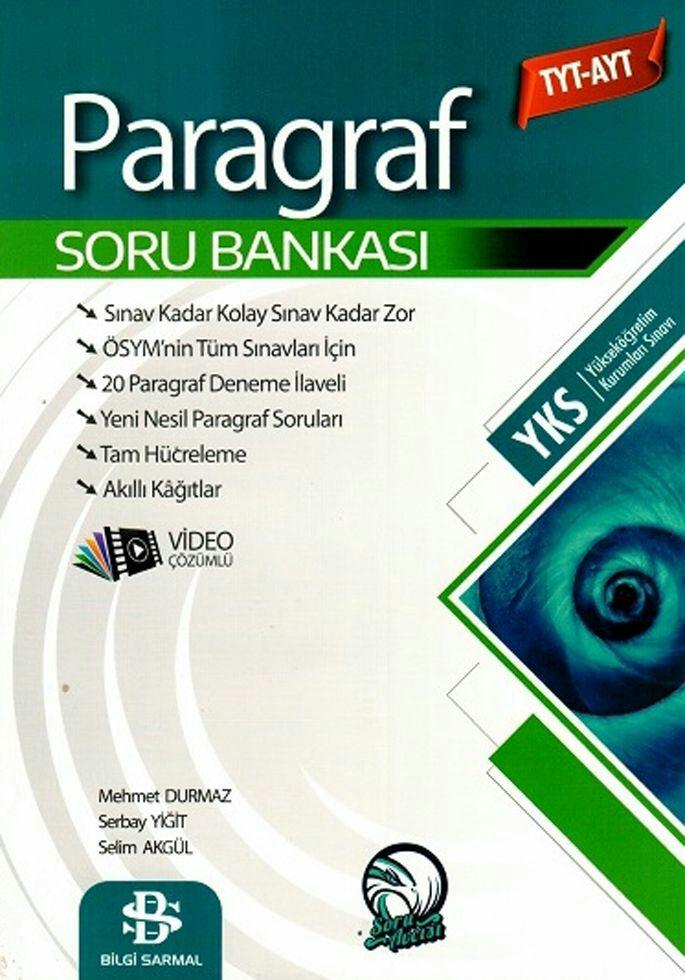 Bilgi Sarmal Yayınları TYT AYT Paragraf Soru Bankası (2019-2020