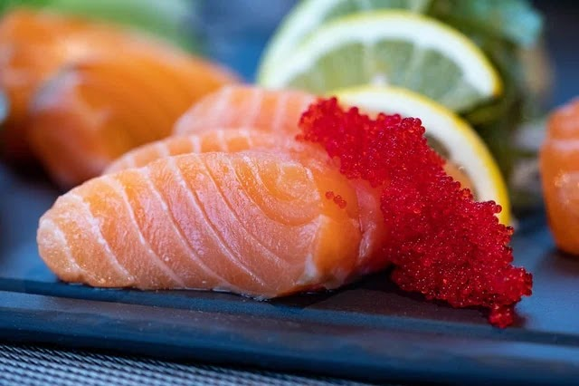 Salmon is a fall superfood that is rich in omega-3 for immune strength