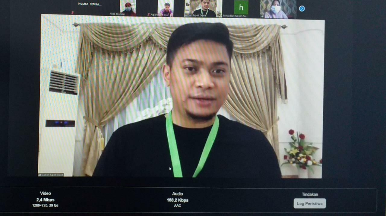 Ajak Pasein Covid-19 Silaturahmi Virtual, Adnan Tegaskan Covid Bukan Aib