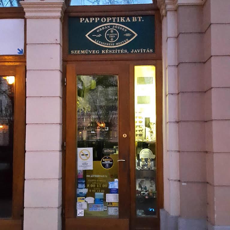 Papp Optika Bt. - Optikus itt  Debrecen c857dbce4b
