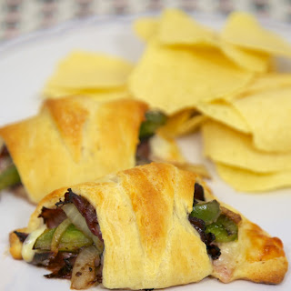 Philly Cheesesteak Crescents