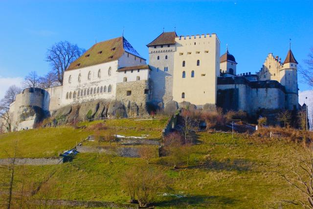 The Castle at Lenzburg, Switzerland, one of Switzerland's oldest