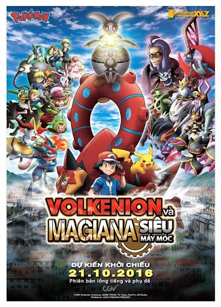 Pokemon XY&Z- Volkenion và Magiana Siêu Máy Móc