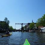 253-Via de Houkesloot varen we terug naar de Waterpoort. Endaar gaan we eten...