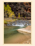 """Virgin River Autumn"" by Valerie Henschel - 2nd Place A Special"