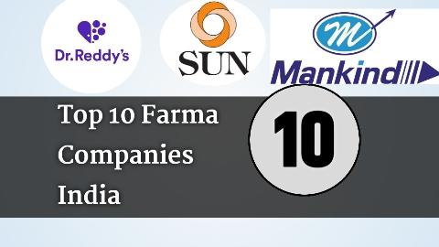 Top 10 pharma company in india |  Share Price ?