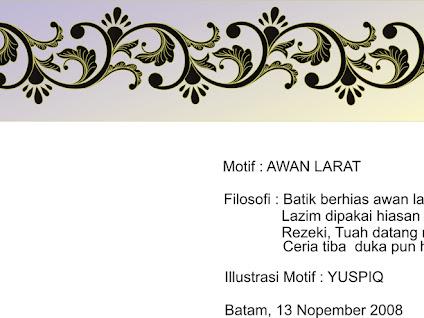 Gambar Dekranasda Kota Batam Daftarkan Sepuluh Motif Batik Tanjung