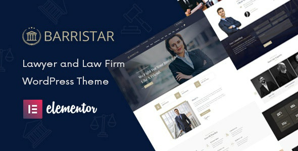 Barristar v2.0 – Law, Lawyer and Attorney WordPress Theme