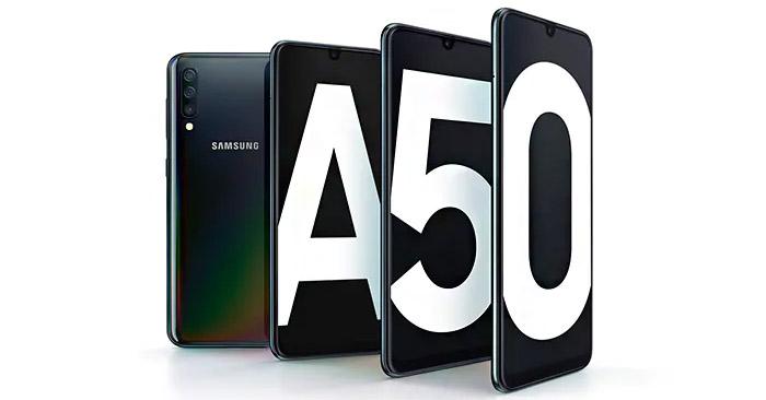 range yang baru saja diluncurkan oleh samsung pada ajang WMC  Samsung Galaxy A50 : Harga Januari 2021, Spesifikasi, Fitur Unggulan
