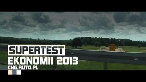 FILM | Relacja filmowa ze zwycięstwa aut CNG w X Superteście Ekonomii