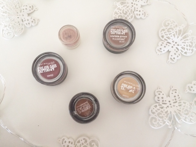 eye shadows, cream, Maybelline, ma factor, benefit, superdrug, fairy lights,