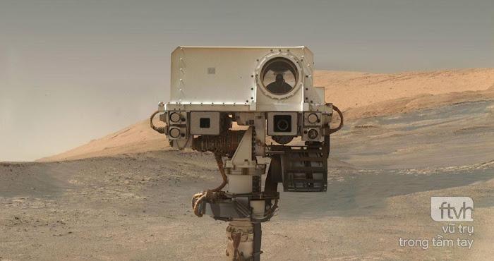 2.000 ngày trên Sao Hỏa của tàu tự hành Curiosity