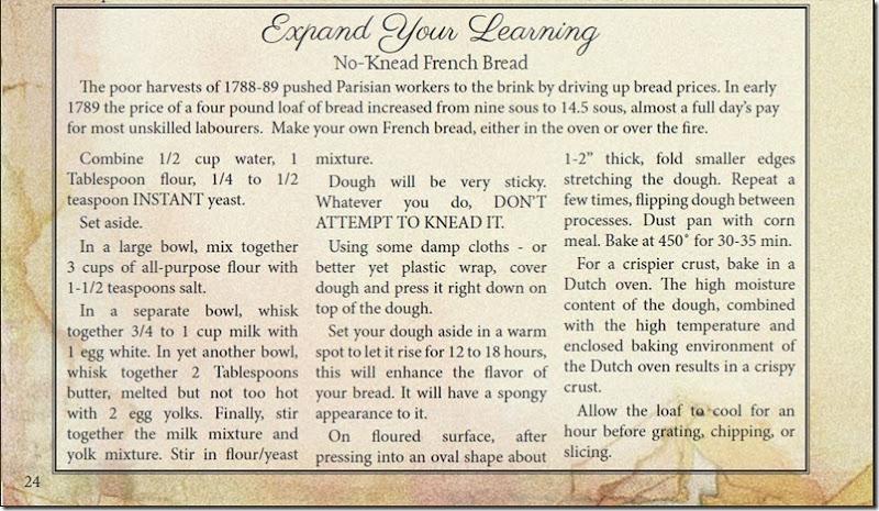 in the reign of terror guide recipe