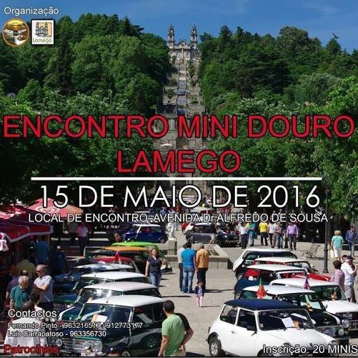 Encontro Mini Douro - Lamego - 15 de maio de 2016