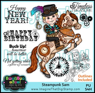 Imagine That DbK - PROMO Steampunk Sam