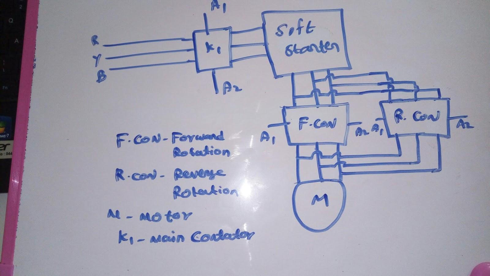 Nice Forward Reverse Motor Starter Elaboration - Electrical and ...