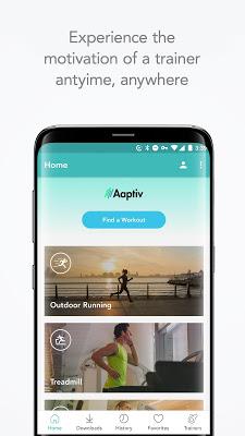 Aaptiv: #1 Audio Fitness App - screenshot