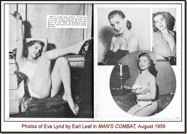 MAN'S COMBAT, Aug 1969 - Eva Lynd photos by Earl Leaf REV2