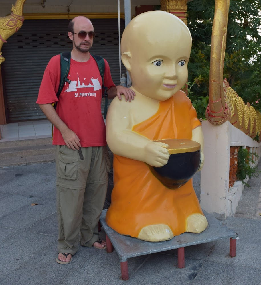 ... the search for the World's Creepiest SuperBaby continues... Thai Buddhist Edition!!