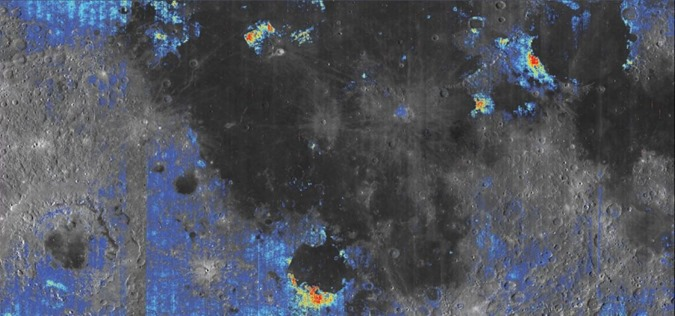 A Lua contém grandes quantidades de água abaixo da superfície, dizem cientistas 02
